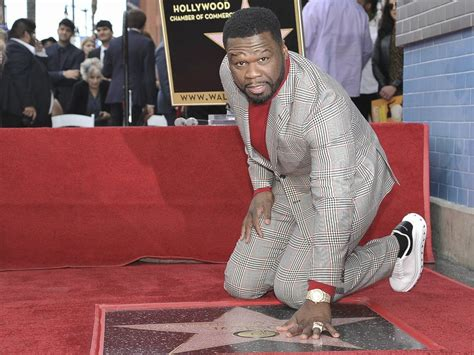 [PHOTOS] Renowned American rapper 50 Cent honoured with a