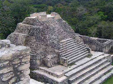 Pyramids in Belize