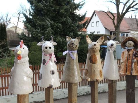 Pin auf Clay-Totems 3, Outdoors & Garden Clay