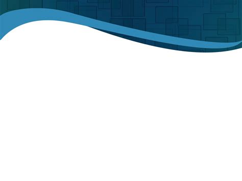 Blue Curved Banner Powerpoint Templates - Abstract, Black