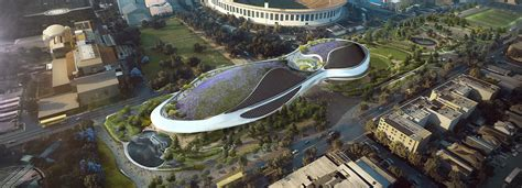 new images of MAD's lucas museum unveiled as project