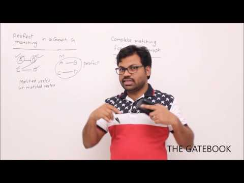 A Bipartite Graph and A Perfect Matching | Download