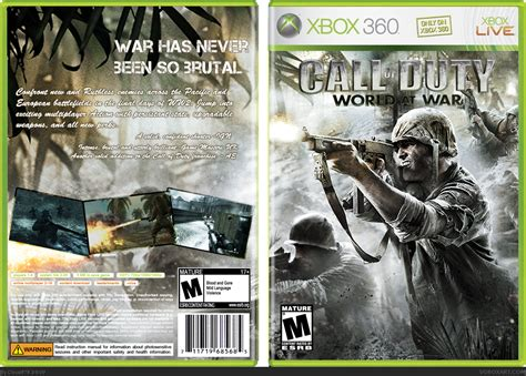Call of Duty: World at War Xbox 360 Box Art Cover by Cloud878