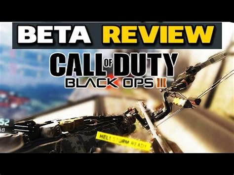 BLACK OPS 3 BETA REVIEW   Is it fun? - Sniper Gameplay
