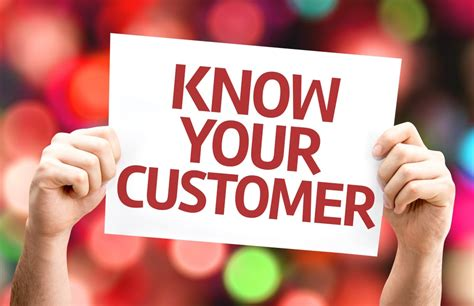 Knowing is not not understanding the customer