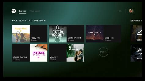Spotify Music para Android TV 2