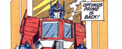Marvel's Transformers G1 Comic (1984-1991) – the agony booth