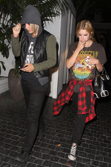 Ashley Benson and Tyler Blackburn Out Late in Hollywood
