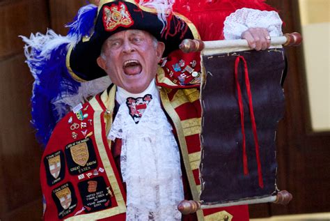 Royal Baby Town Crier: The Unexpected Media Star Of Royal