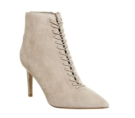 Kendall + Kylie Liza Lace Ankle Boots in Natural - Lyst