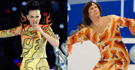 Katy Perry's Super Bowl Outfit; Will Ferrell Blades of