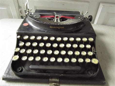 The Lost History of the Yiddish Typewriter - The Jewish