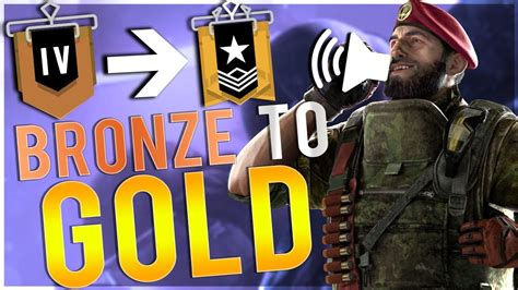 Rainbow Six: Siege: #1 Tip To Rank Up To Gold - YouTube