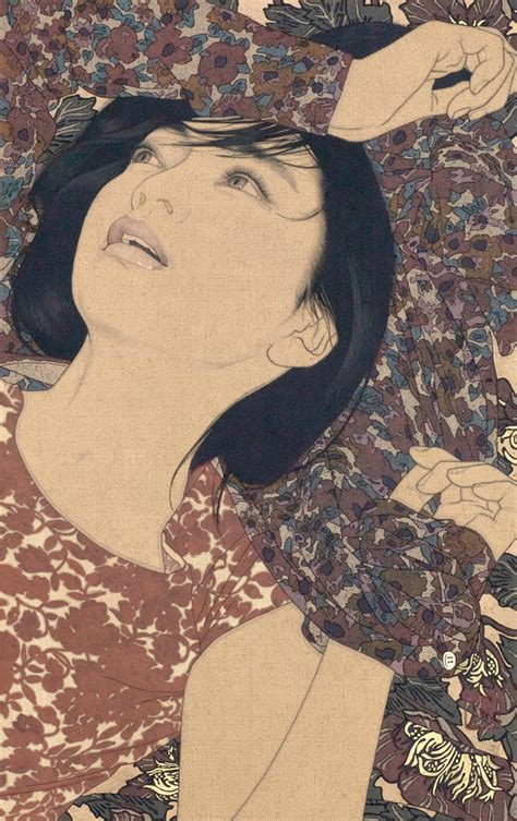 Ikenaga Yasunari Japanese Women Illustrations