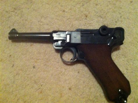 What Is The Value Of A WWII German Luger Matching Serial