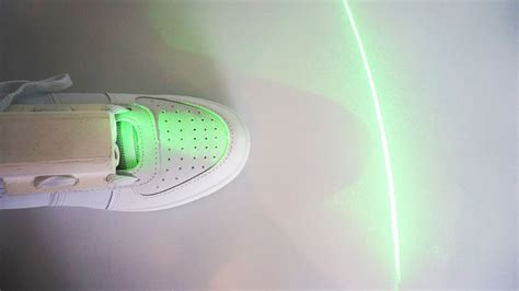 This laser-guided shoe keeps Parkinson's patients on their