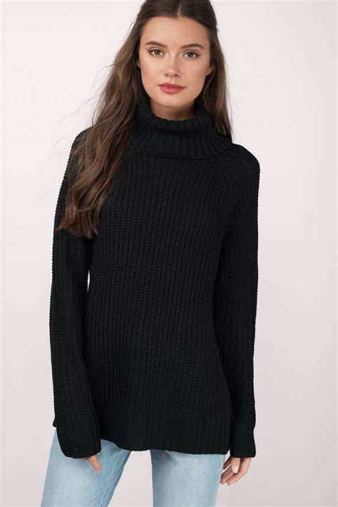 Black Summer Sweater - Baggage Clothing