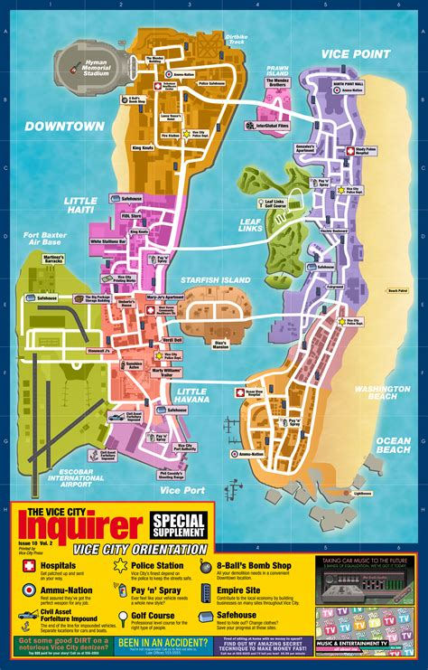 Download High Res Maps for Liberty City Stories and Vice